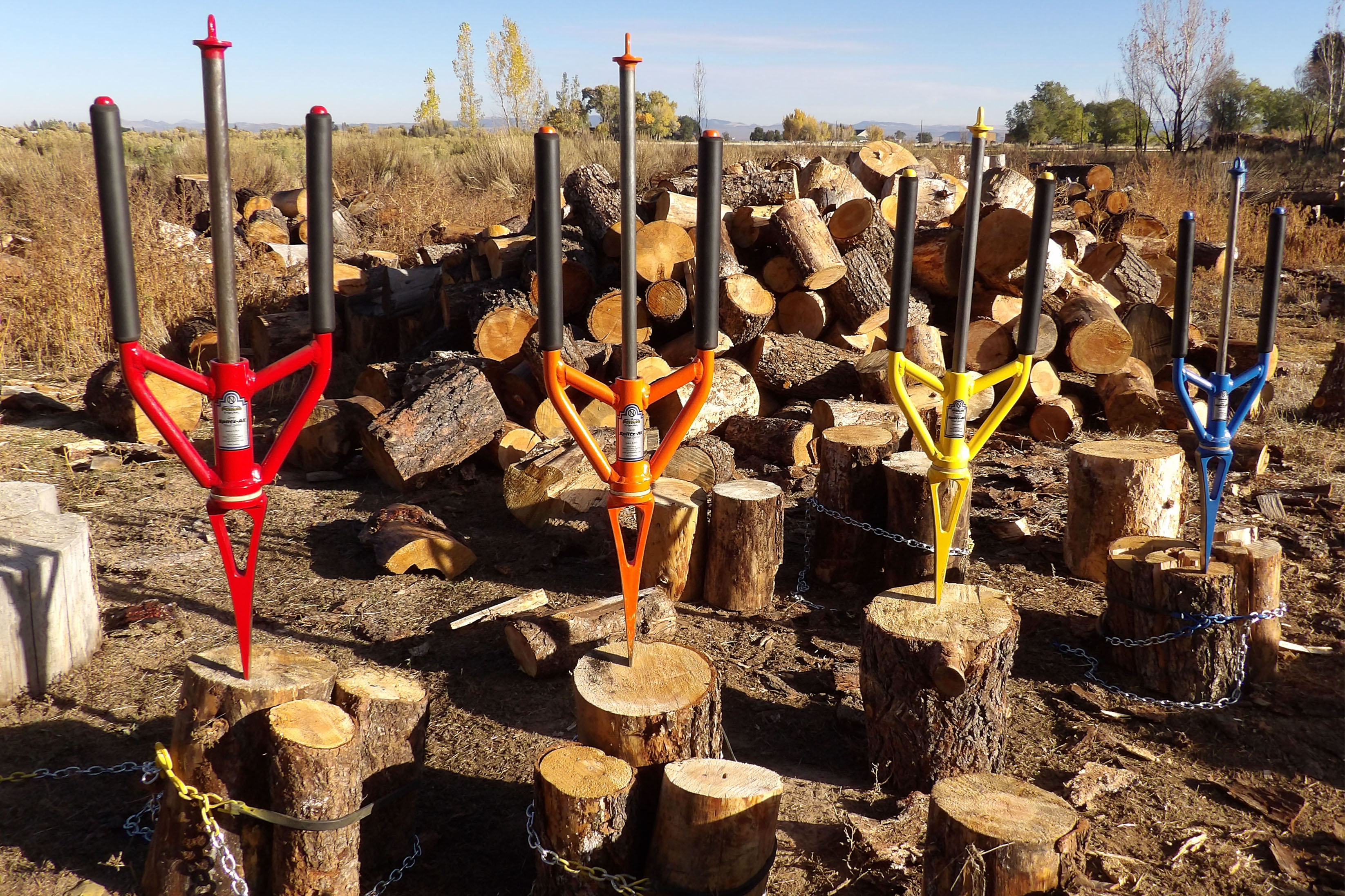 Good N Useful Splitz All Split Knotty Log Firewood Wood