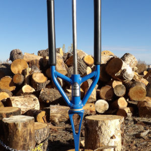 Splitz-Assist, keeps all the pieces together while splitting and makes it easy to to carry to the log pile
